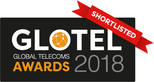Global Telecoms Awards Shortlisted 2018 logo Colour