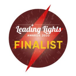 Leading lights finalist logo 2020