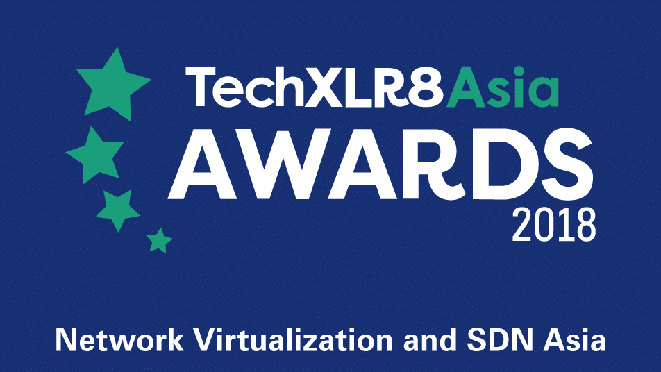 Tech XLR8 award 2018 logo Colour
