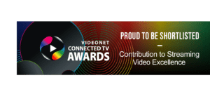 Videonet Connected TV Shortlisted logo 2020